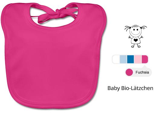 Babylätzchen zum Gestalten
